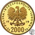 Mieszko I 2000 złotych 1979 st. L