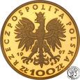 Polska III RP 100 złotych 1997 Stefan Batory st. L
