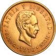 Kuba 5 Pesos 1916 st.1