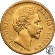 Niemcy Bawaria 20 Marek 1873 D st.3