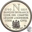 Francja medal Napoleon 1981 PLATYNA - tylko 8000 egz st. 1
