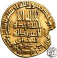 Islam Abbasydzi dinar IX w. (AD) st.3-