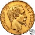 Francja 50 franków 1857 A Paris st.2