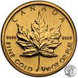 Kanada 5 dolarów 2008 (1/10 uncji złota) st.1