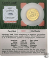 100 złotych 2008 Orzeł Bielik (1/4 uncji złota) st.L