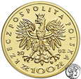 Polska III RP 100 złotych 2002 Kazimierz III Wielki st.L