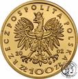 Polska III RP 100 złotych 2002 Władysław Jagiełło st.L