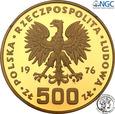 PRL 500 złotych 1976 Kazimierz Pułaski NGC PF 69 ULTRA CAMEO