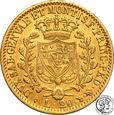 Włochy Sardynia Carlo Felice 1821-1831 20 lirów 1828 (orzeł) s2