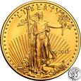 USA 25 dolarów 2011 (1/2 uncji złota) st.1