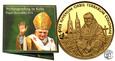 Somalia 5 dolarów 2005 papież Benedykt st.L