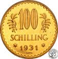 Austria 100 szylingów 1931 st.1-