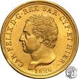 Włochy Sardynia 80 Lire 1826 (orzeł) st.2