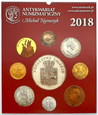 Kalendarz numizmatyczny 2018 - limitowana edycja! Kurier GRATIS