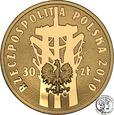 Polska 30 złotych 2010 Polski Sierpień 1980 Solidarność st.L