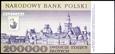 200000 ZŁOTYCH 1989 ROK SERIA L WARSZAWA STAN PIERWSZY BANKOWY UNC