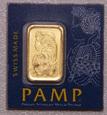 Sztabka 1 gram Au 999 - PAMP