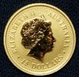 Australia - 15 dolarów 2002 - Kangury - 1/10 Oz. Au999