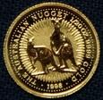 Australia - 5 dolarów 1998 - Kangury - 1/20 Oz. Au999