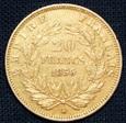 Francja - 20 franków - 1856 A - Napoleon III