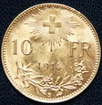 Szwajcaria - 10 franków 1914