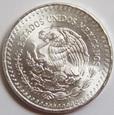 Meksyk - Plata Pura - 1982 - 1 Oz. Ag999
