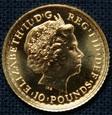 Wielka Brytania - 10 funtów - Britannia 2012 - 1/10 Oz. Au999
