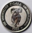 Australia - 50 $ - Koala 1988 - 1/2 Pt 9995 - Platyna