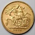 Wielka Brytania - Suweren - Jerzy V - 1929 - RPA