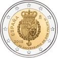 2 Euro 2018 - Hiszpania ( 50 urodziny Filipa VI )