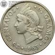 Dominikana, 25 centavos, 1963 rok