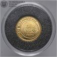 Hiszpania, 20 euro 2008, aureus, złoto