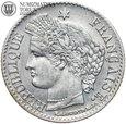 Francja, 20 centimes 1850 A, st. 2, #DW