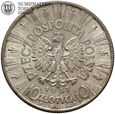 II RP, 10 złotych 1937, Piłsudski, st. 2