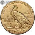 USA, 2,5 dolara 1910, Indianin, złoto
