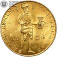 Holandia, dukat 1928, złoto