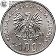 PRL, 100 złotych, Jadwiga, 1988 rok, bez monogramu