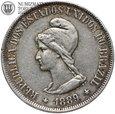 Brazylia, 500 reis 1889, st. 3+, #P1