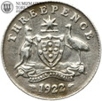 Australia, 3 pensy, 1922, st. 3, #73