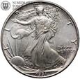 USA, 1 dolar 1991, Eagle, uncja, st. 2+