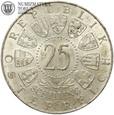 Austria, 25 szylingów, Mariazell, 1957, st. 2+, #88