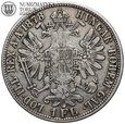 Austria, 1 floren 1878, st. 3/3+