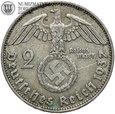 Niemcy, 2 marki 1937 D, Hindenburg, st. 3+, #G5