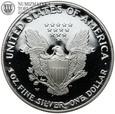 Usa, dolar, 2006 W, Silver Eagle, stempel lustrzany st. L #91
