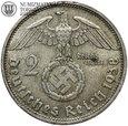 Niemcy, 2 marki 1938 D, Hindenburg, st. 3+, #G5