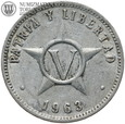 #18. Kuba, 5 centavos, 1963 rok, st. 3+