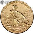 USA, 2,5 dolara 1926, Indianin, złoto