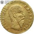 Meksyk, moneta fantazyjna, Maksymilian, 1865, #V2