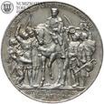 Niemcy, Prusy, 3 Marki , 1913 rok, 100 Lat Zwycięstwa, ~st. 2