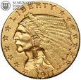 USA, 2,5 dolara 1911, Indianin, złoto